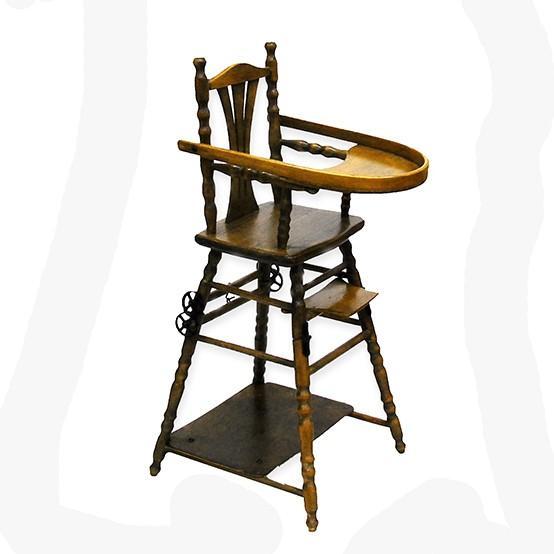 アンティーク ドールチェア ドール用ベビーチェア フランス製|antiquesjikoh|04