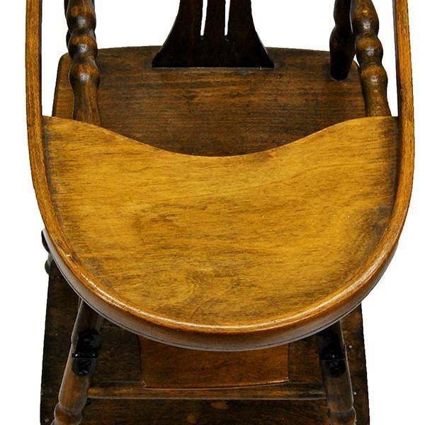 アンティーク ドールチェア ドール用ベビーチェア フランス製|antiquesjikoh|09