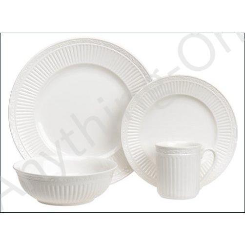 ★新品★Mikasa Italian Countryside 16-Piece Dinnerware Set, Service for 4 by Mikasa【並行輸入品】