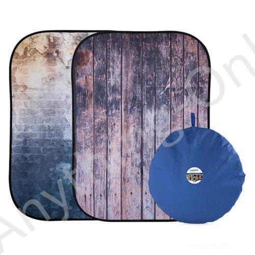 新品 Lastolite LL lb5715·5·x 7フィートUrban Collapsible背景Derelict壁/木製フェンス並行輸入品