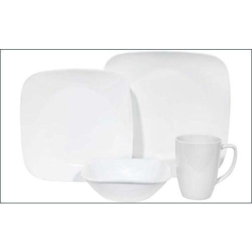 ★新品★Corelle Square食器セット 32-Pc 1069958x2【並行輸入品】