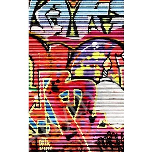 新品 Click Props 5 x 8 ft Shutter Graffiti 2 Photographic Vinyl Background並行輸入品