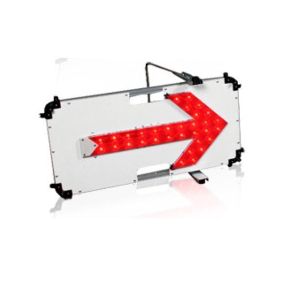 LED矢印板 電池式 赤印 ストリームアロー