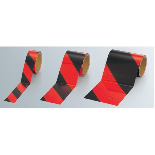 蛍光テープ 蛍光反射テープ 橙/黒 橙/黒 橙/黒 橙部反射 a98