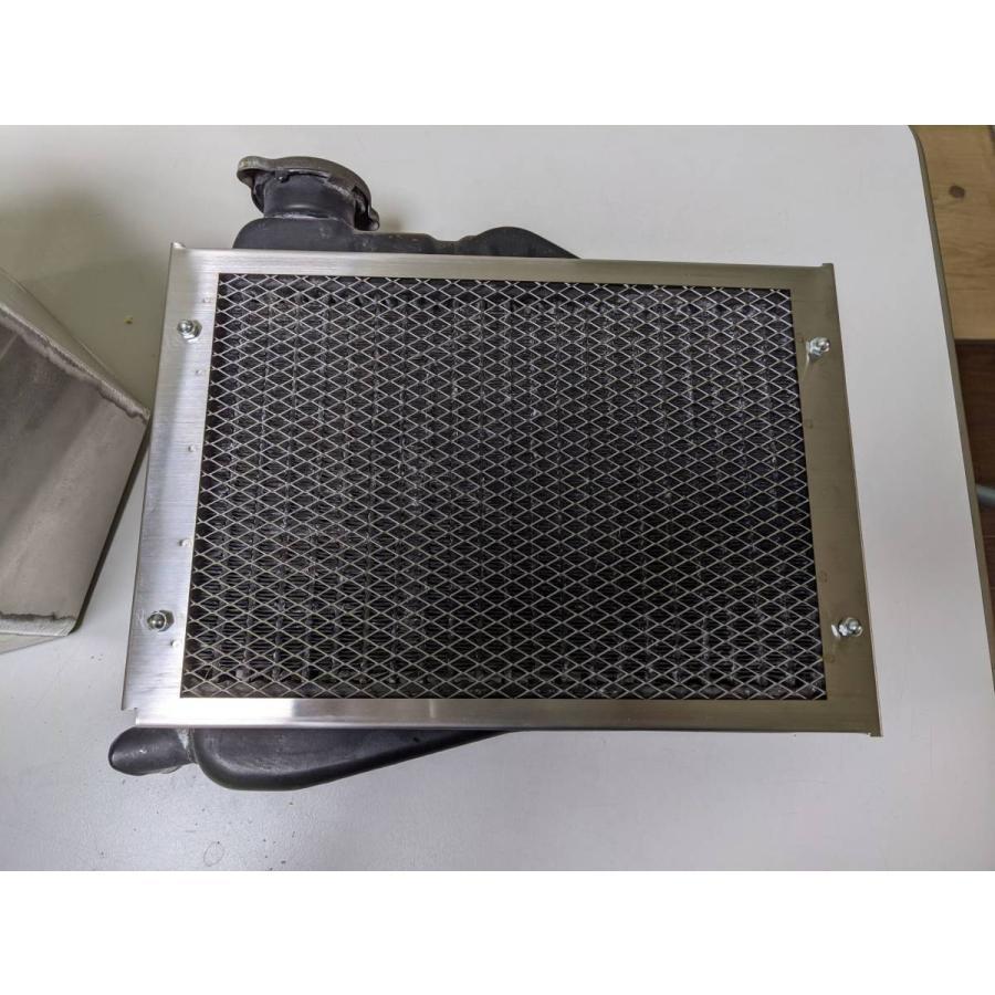 YAMAHA RZ250 ラジエーターカバー シンプルタイプ ヘアライン ステンレス 部品 冷却 70%OFFアウトレット パーツ カバー 4L3 ラジエーター RZR 激安通販ショッピング TZR RZ NSR RD R1-Z
