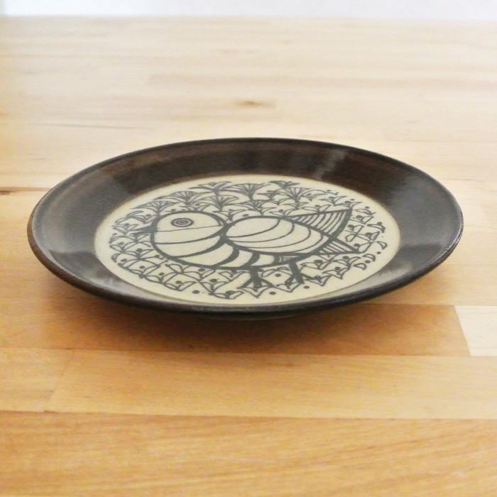 再入荷なし■皿 Lisa Larson リサ・ラーソン・ジャパニーズシリーズ プレート 5.5寸皿 平皿 益子の皿 益子焼 北欧 1万円以上送料無料|aodama-zakka|06