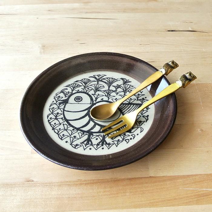 再入荷なし■皿 Lisa Larson リサ・ラーソン・ジャパニーズシリーズ プレート 5.5寸皿 平皿 益子の皿 益子焼 北欧 1万円以上送料無料|aodama-zakka|07