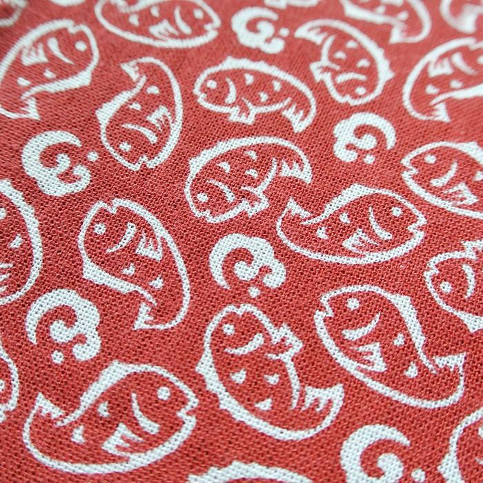 再入荷なし■てぬぐい 鯛 日本製 赤 和布 タオル タイ お祝い 送料200円 1万円以上送料無料|aodama-zakka|02