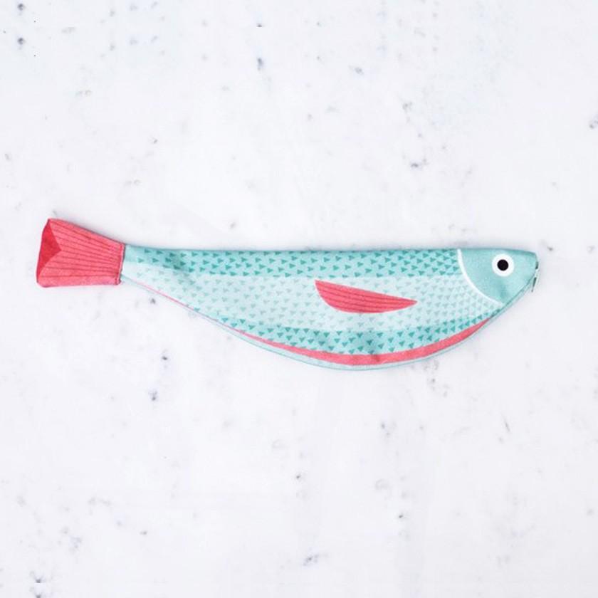 再入荷 おさかなポーチ 超定番 青魚 DON FISHER ドンフィッシャー VERDIN ピンク 返品送料無料 送料200円 地中海のさかな ブルー 輸入雑貨 1万円以上送料無料