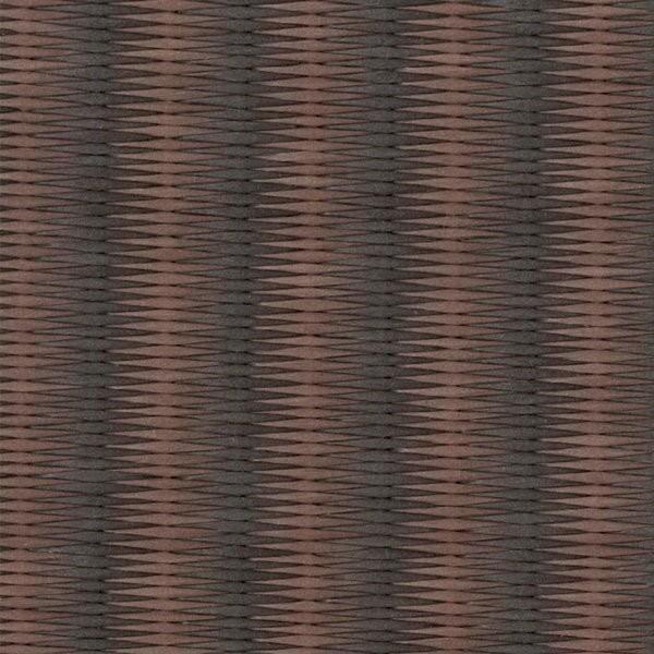 ダイケン畳 置き畳 国産 琉球畳 畳 和紙畳(ストライプ01 栗色 胡桃色70cm9枚) ユニット畳 フロア畳 フローリング 畳マット クッションフロア
