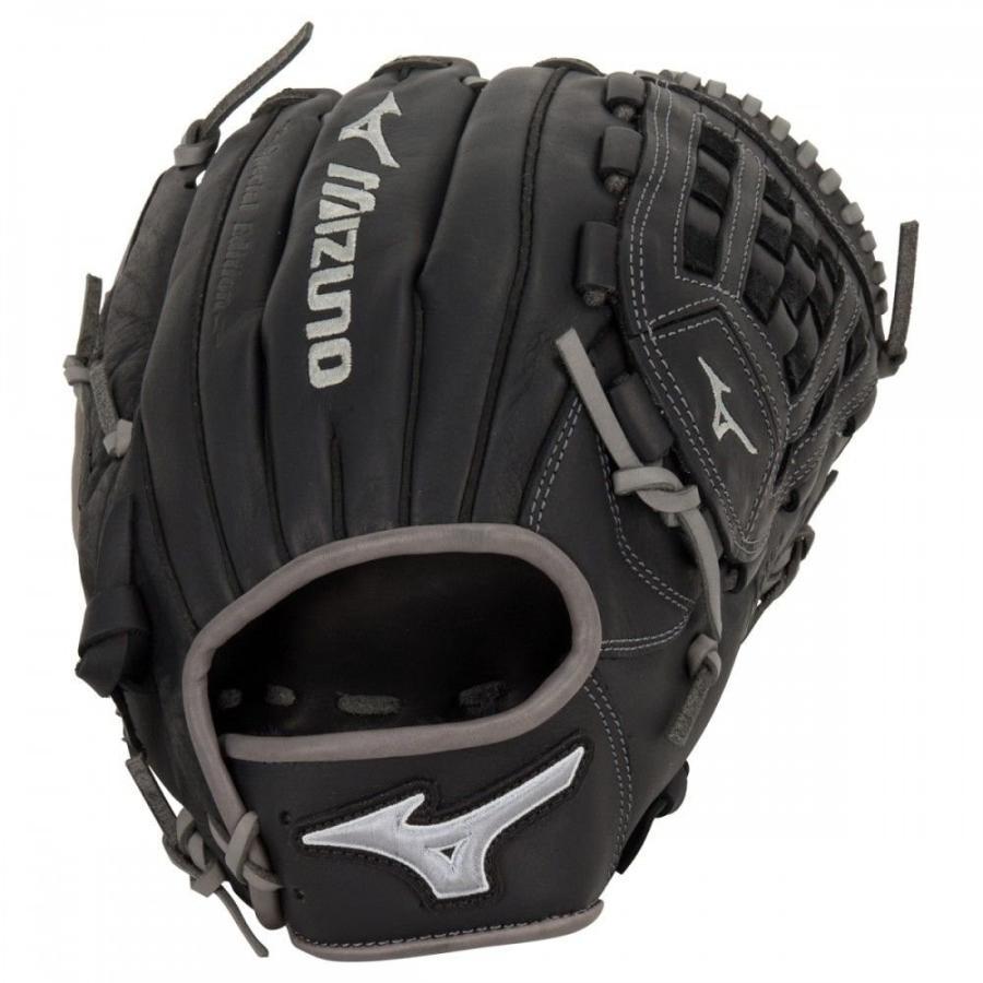 ミズノ Mizuno MVP Prime 12サイズ グローブ - Black/Smoke 送料無料 メーカー直送。納期約1か月程度