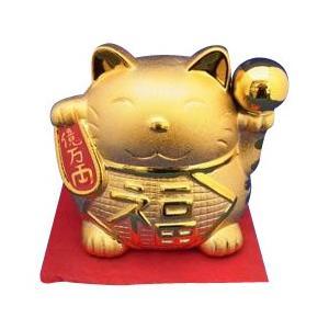 金色の招き猫貯金箱 新作入荷 超激得SALE 大