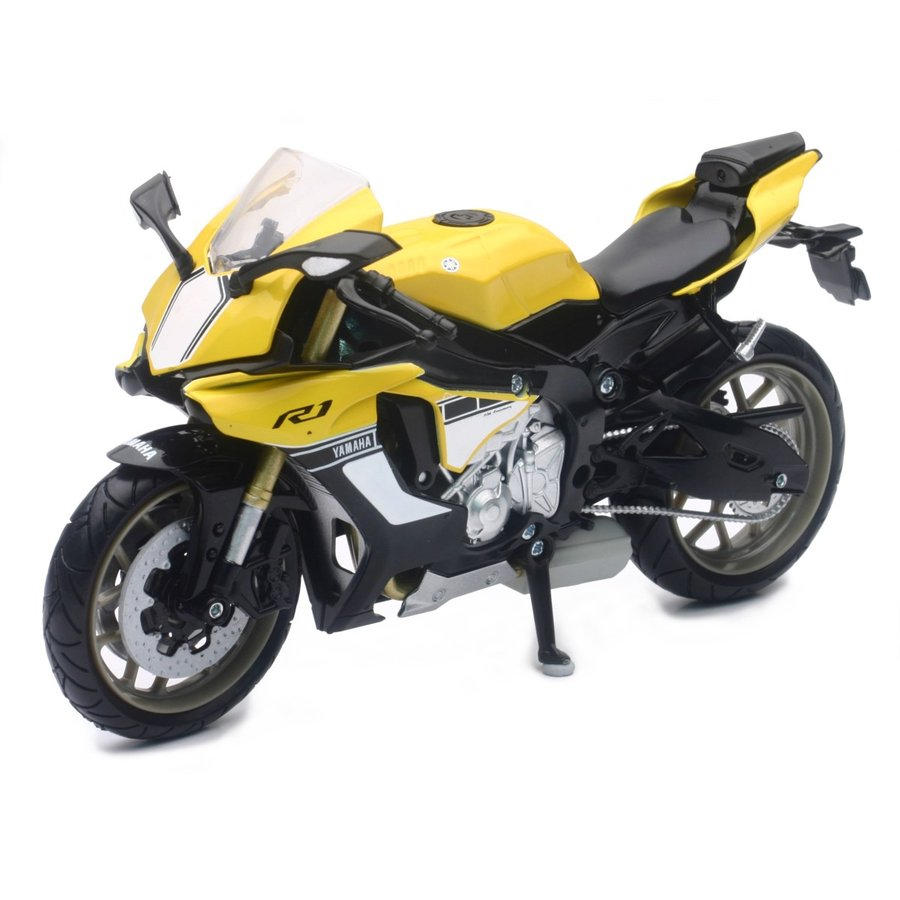 YAMAHA YZF-R1 2016 イエロー 1/12 完成品バイク aoshima-bk