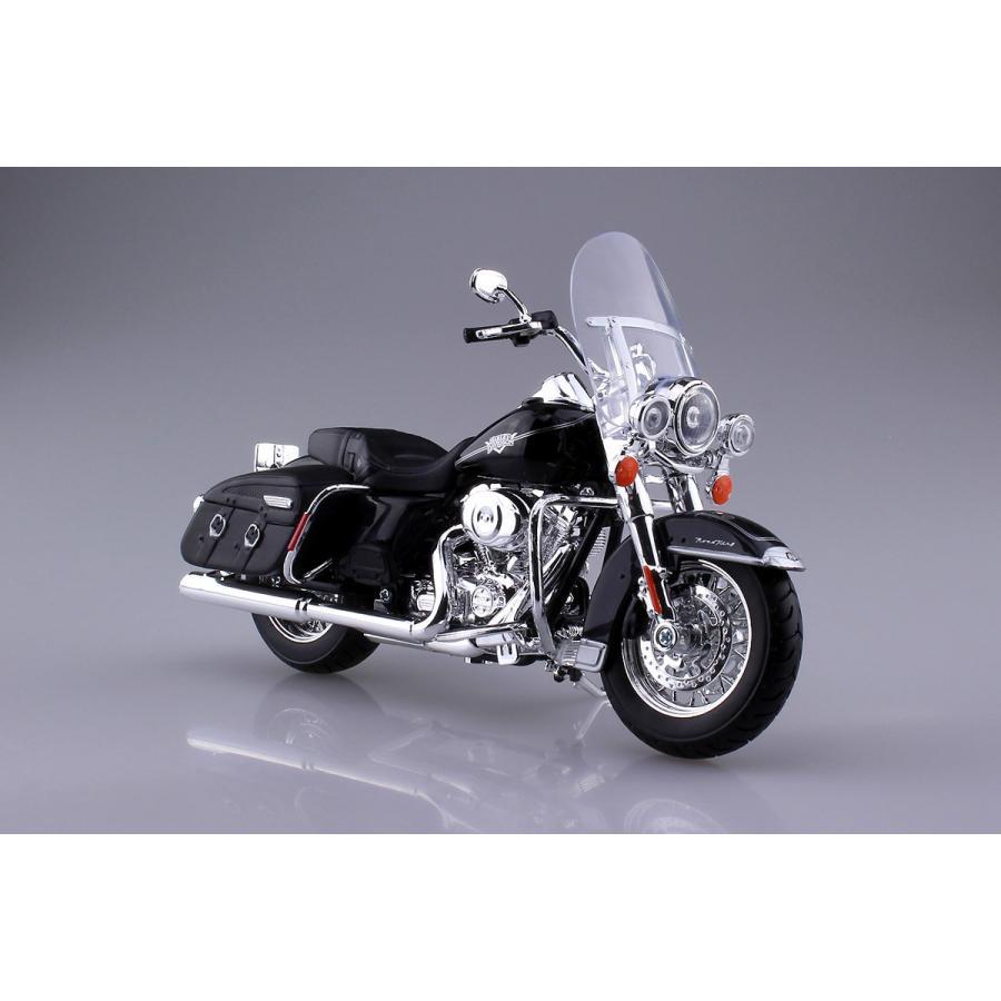 HARLEY-DAVIDSON 2013 FLHRC ロードキング クラシック 1/12 完成品バイク #完成品|aoshima-bk