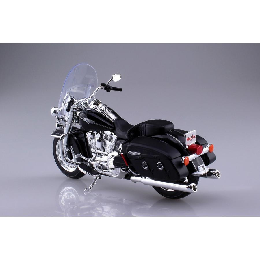 HARLEY-DAVIDSON 2013 FLHRC ロードキング クラシック 1/12 完成品バイク #完成品|aoshima-bk|02