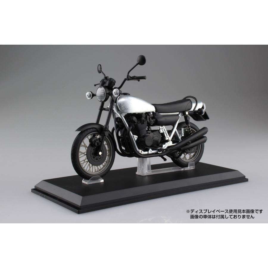 KAWASAKI 750RS(Z2) 玉虫ブルー 1/12 完成品バイク #完成品|aoshima-bk|04