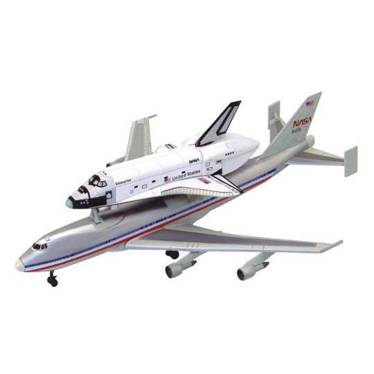 1/450 スペースシャトル&747 4D VISION 宇宙 No.4 #立体パズル aoshima-bk