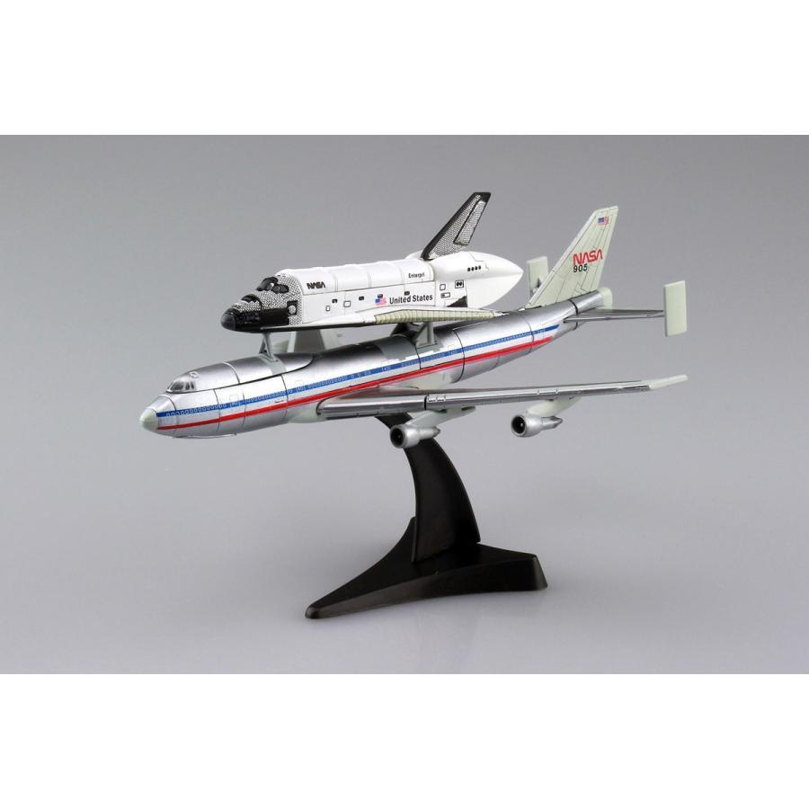 1/450 スペースシャトル&747 4D VISION 宇宙 No.4 #立体パズル aoshima-bk 02