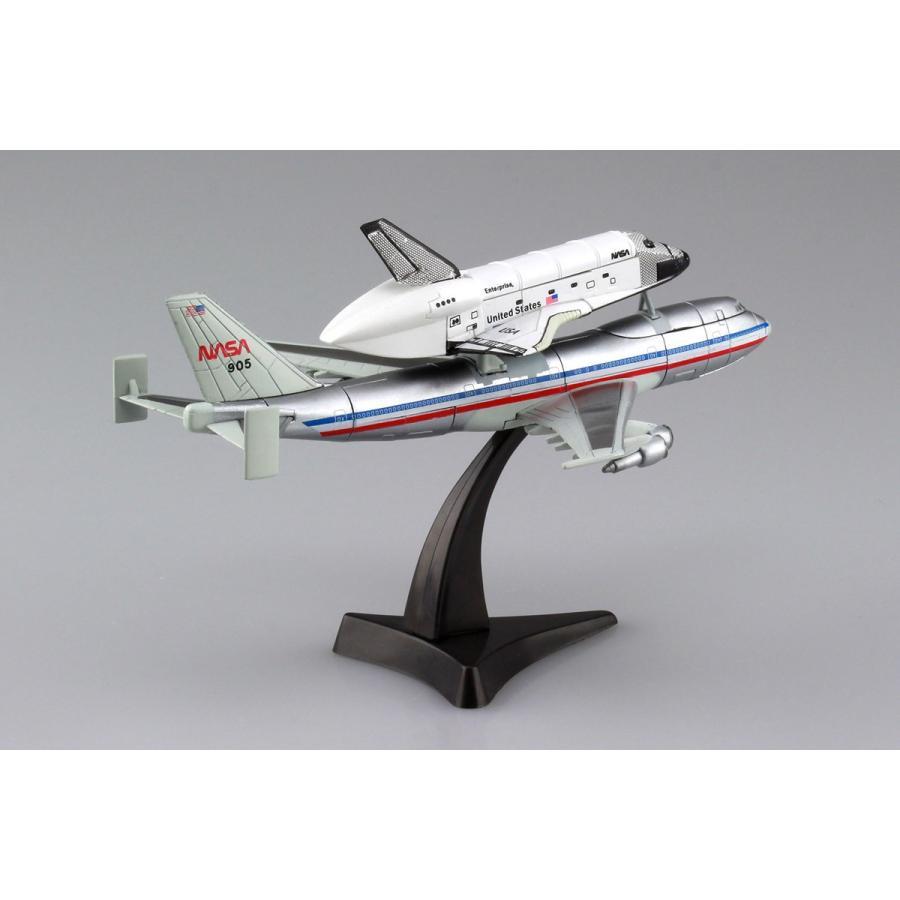 1/450 スペースシャトル&747 4D VISION 宇宙 No.4 #立体パズル aoshima-bk 03
