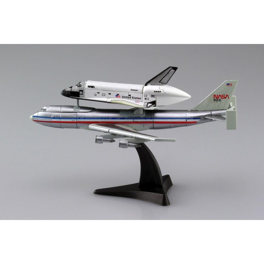 1/450 スペースシャトル&747 4D VISION 宇宙 No.4 #立体パズル aoshima-bk 04