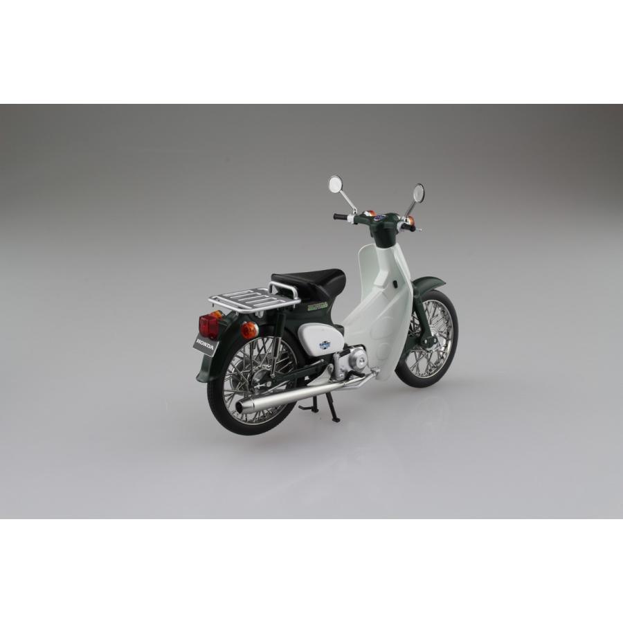 Honda スーパーカブ50 グリーン 1/12 完成品バイク     #完成品 aoshima-bk 03