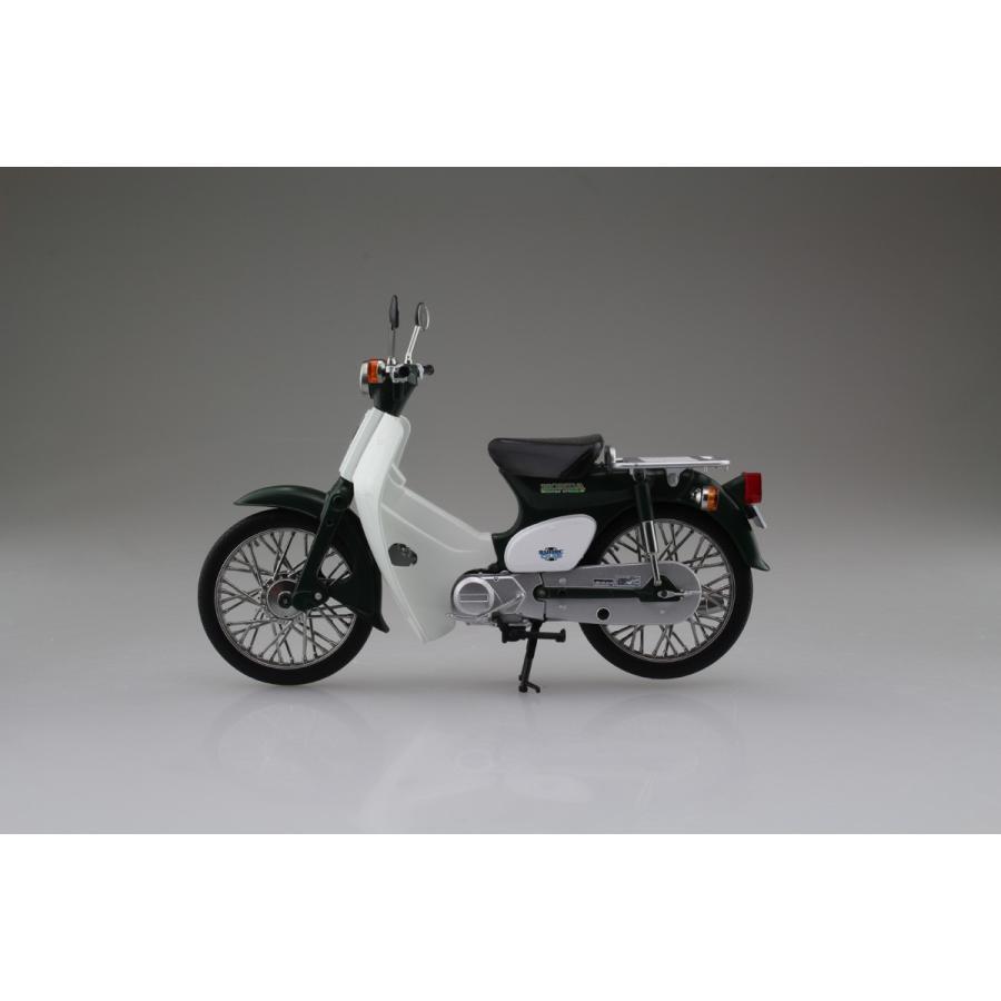 Honda スーパーカブ50 グリーン 1/12 完成品バイク     #完成品 aoshima-bk 04