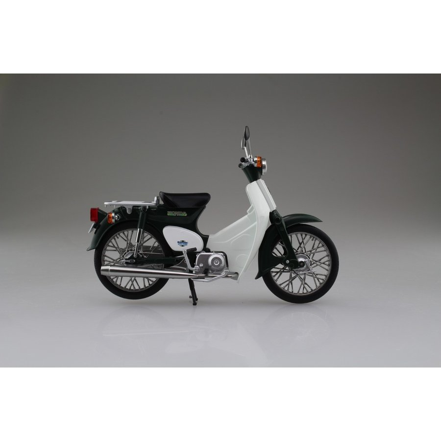 Honda スーパーカブ50 グリーン 1/12 完成品バイク     #完成品 aoshima-bk 05