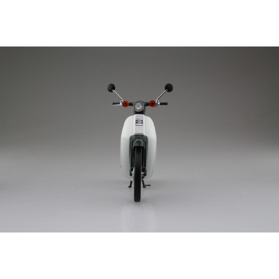 Honda スーパーカブ50 グリーン 1/12 完成品バイク     #完成品 aoshima-bk 06