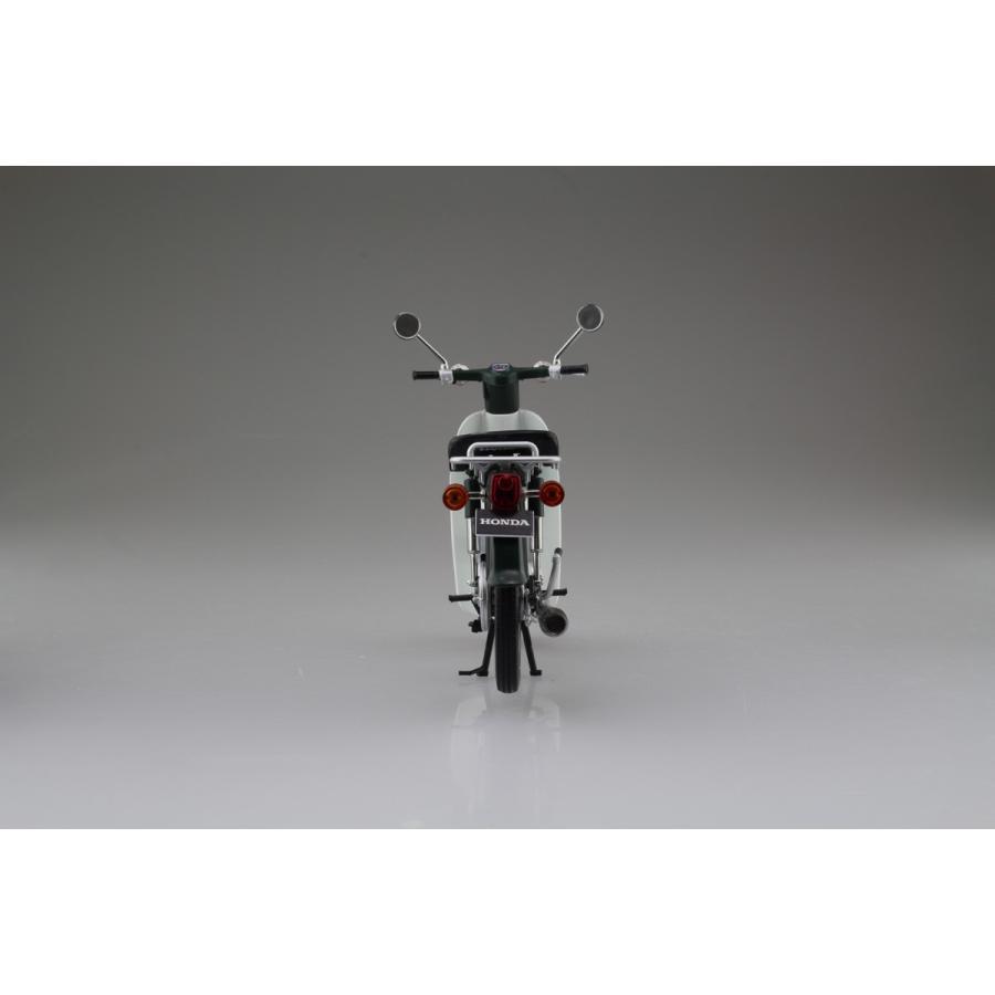 Honda スーパーカブ50 グリーン 1/12 完成品バイク     #完成品 aoshima-bk 07