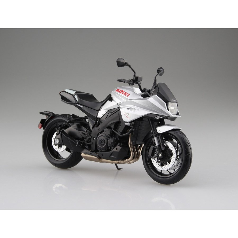 SUZUKI GSX-S1000S KATANA メタリックミスティックシルバー 1/12 完成品バイク   #完成品|aoshima-bk