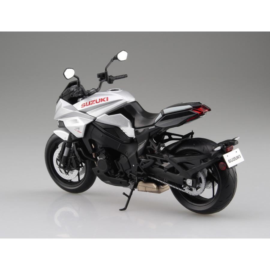 SUZUKI GSX-S1000S KATANA メタリックミスティックシルバー 1/12 完成品バイク   #完成品|aoshima-bk|02