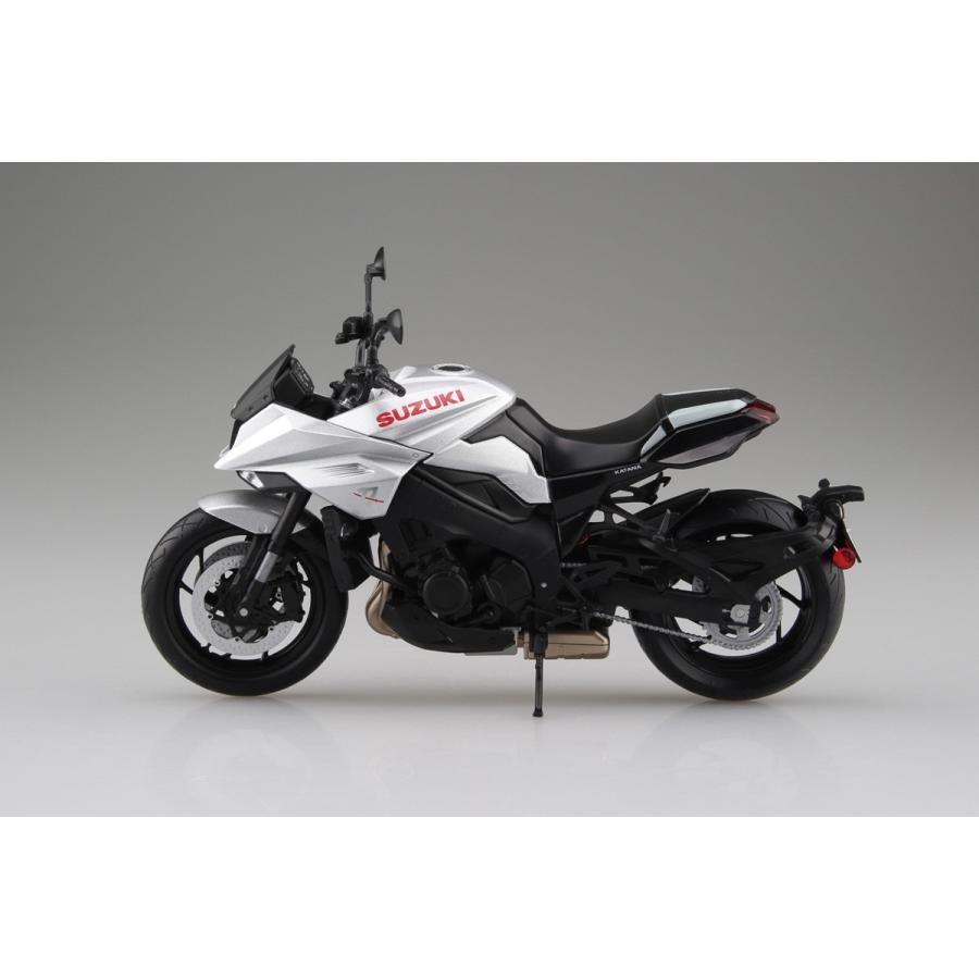 SUZUKI GSX-S1000S KATANA メタリックミスティックシルバー 1/12 完成品バイク   #完成品|aoshima-bk|04