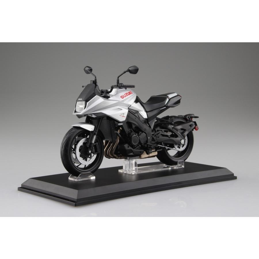 SUZUKI GSX-S1000S KATANA メタリックミスティックシルバー 1/12 完成品バイク   #完成品|aoshima-bk|06