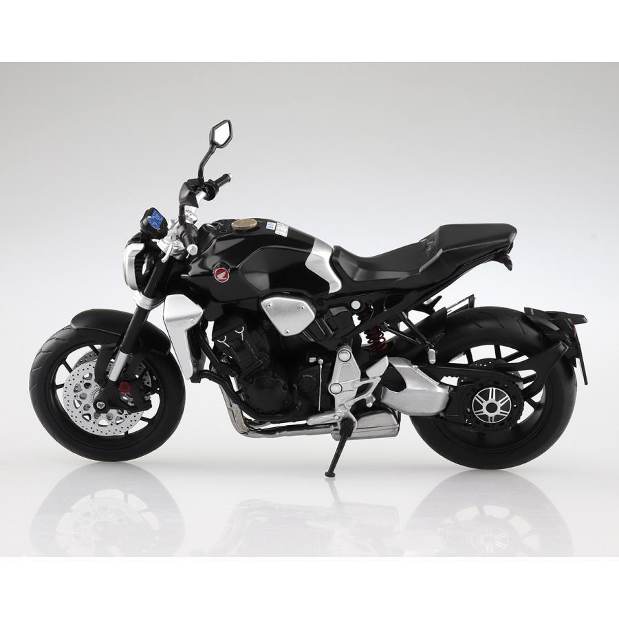 HONDA CB1000R グラファイトブラック 1/12 完成品バイク #完成品 aoshima-bk 02
