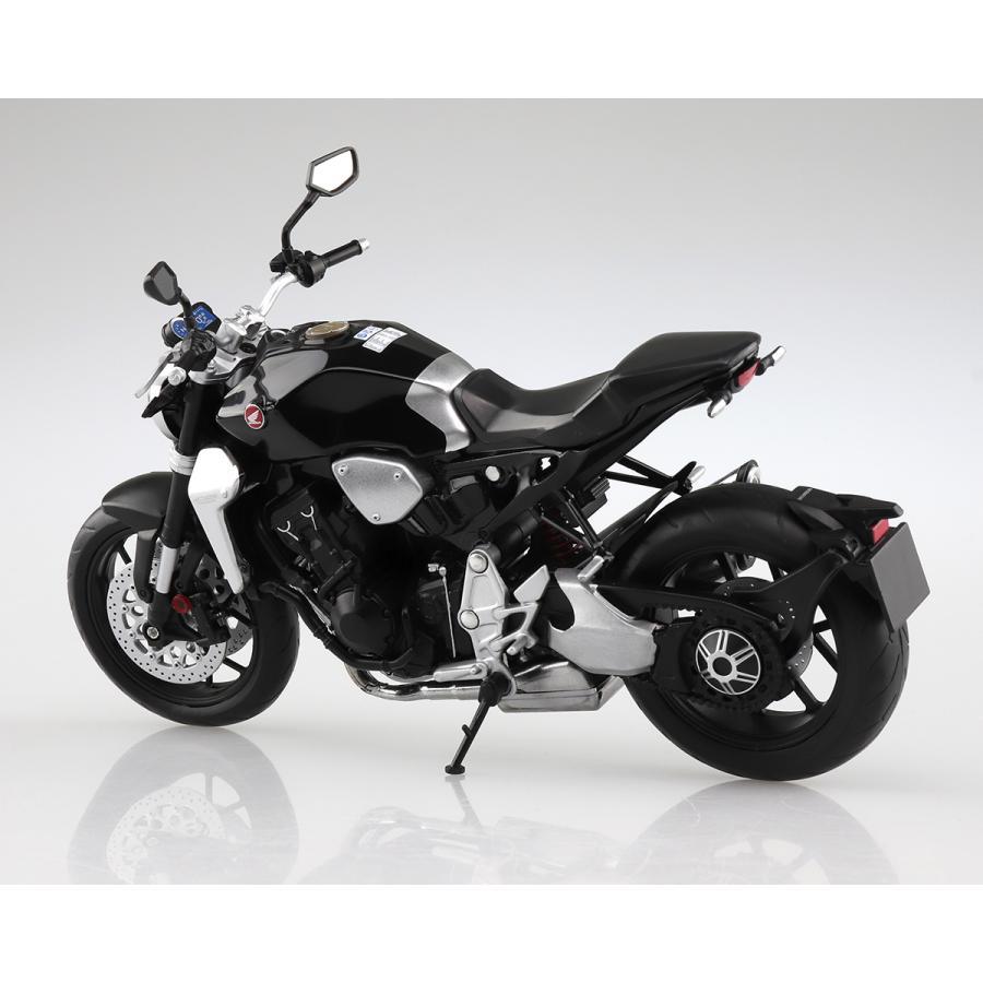 HONDA CB1000R グラファイトブラック 1/12 完成品バイク #完成品 aoshima-bk 03