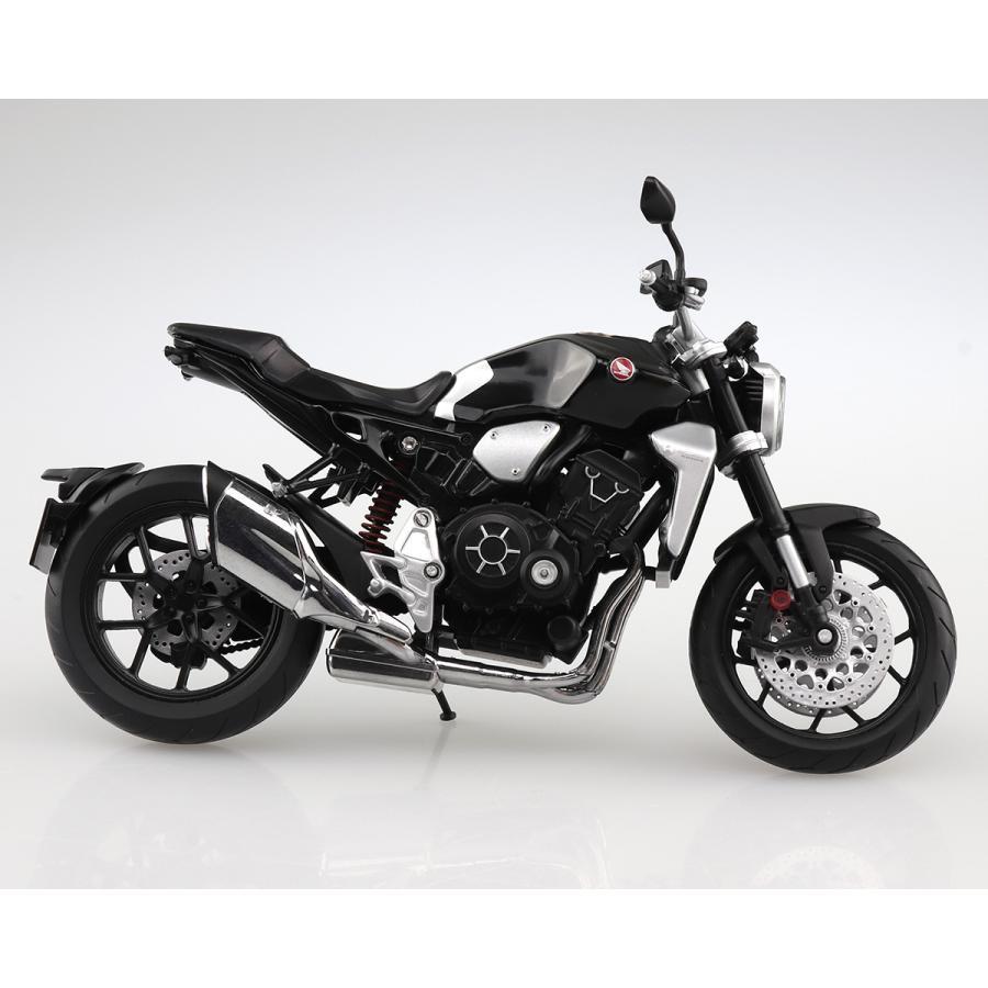 HONDA CB1000R グラファイトブラック 1/12 完成品バイク #完成品 aoshima-bk 05