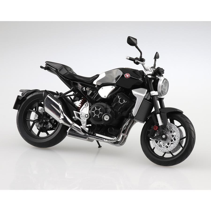 HONDA CB1000R グラファイトブラック 1/12 完成品バイク #完成品 aoshima-bk 06