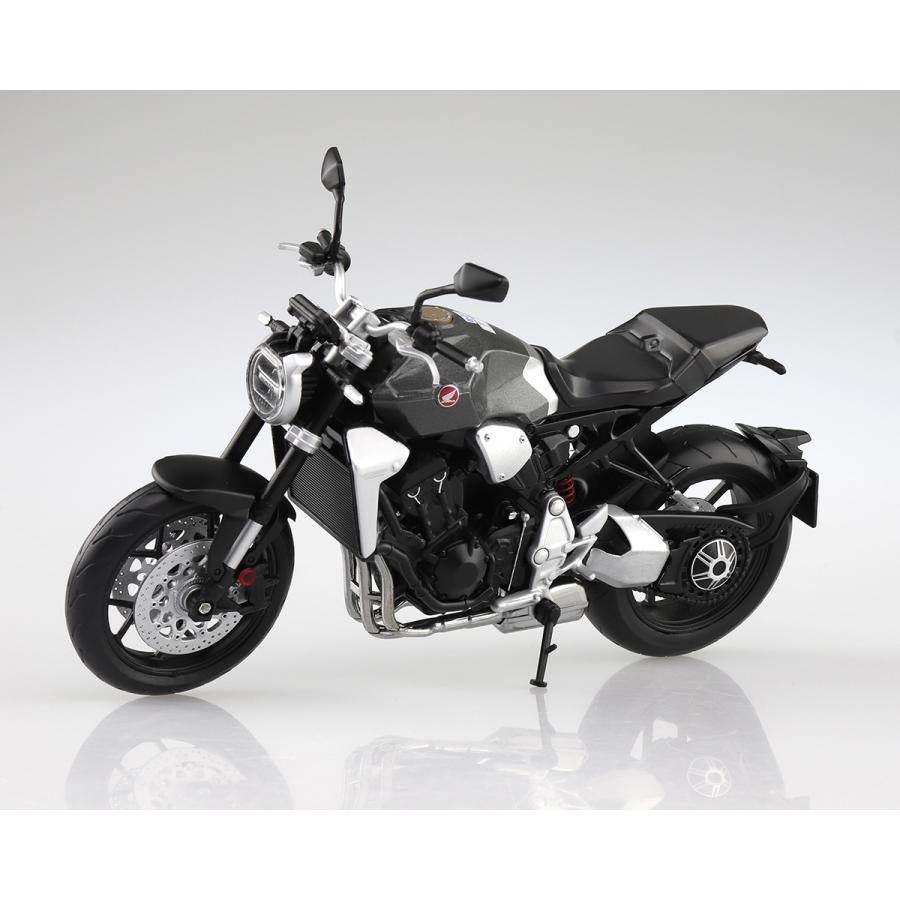 HONDA CB1000R ソードシルバーメタリック 1/12 完成品バイク #完成品|aoshima-bk