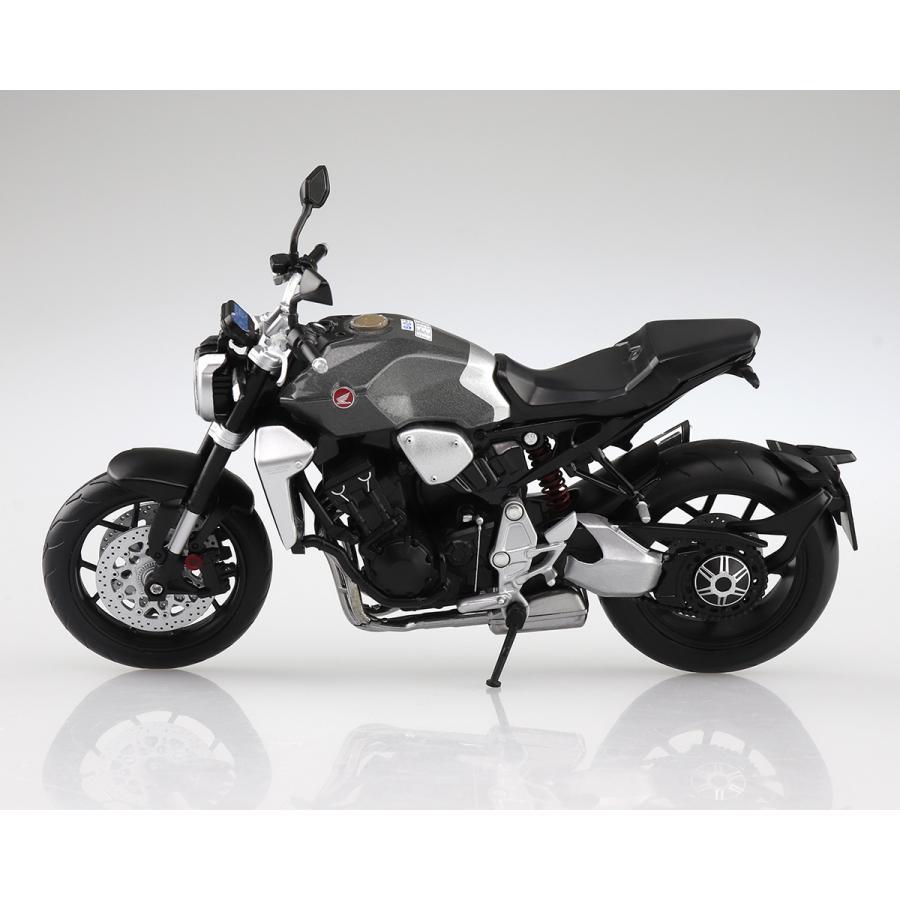 HONDA CB1000R ソードシルバーメタリック 1/12 完成品バイク #完成品|aoshima-bk|02