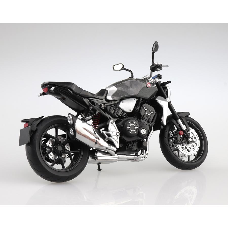 HONDA CB1000R ソードシルバーメタリック 1/12 完成品バイク #完成品|aoshima-bk|04