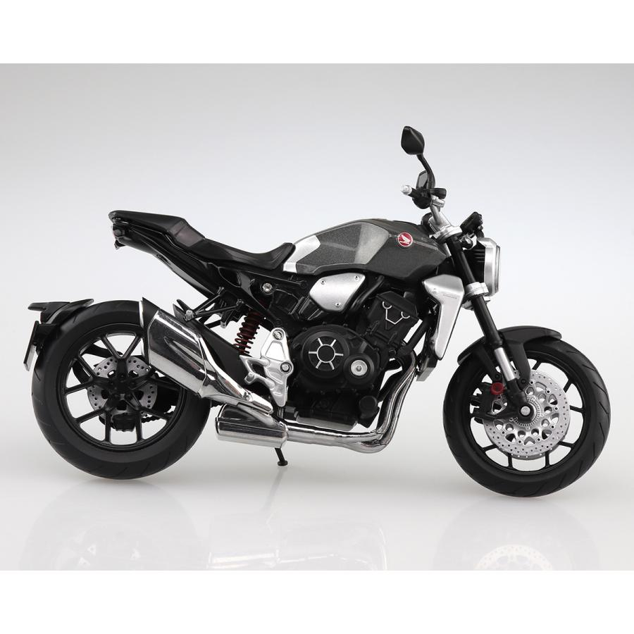 HONDA CB1000R ソードシルバーメタリック 1/12 完成品バイク #完成品|aoshima-bk|05