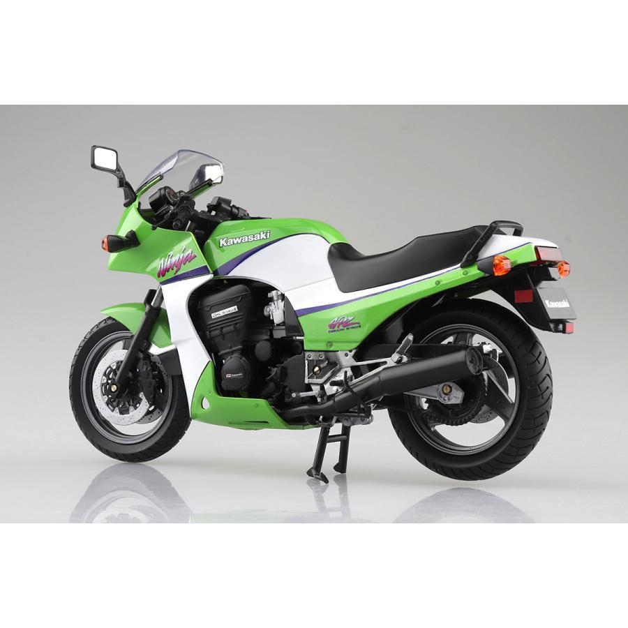 KAWASAKI GPZ900R (ライムグリーン)  1/12 完成品バイク #完成品|aoshima-bk|02