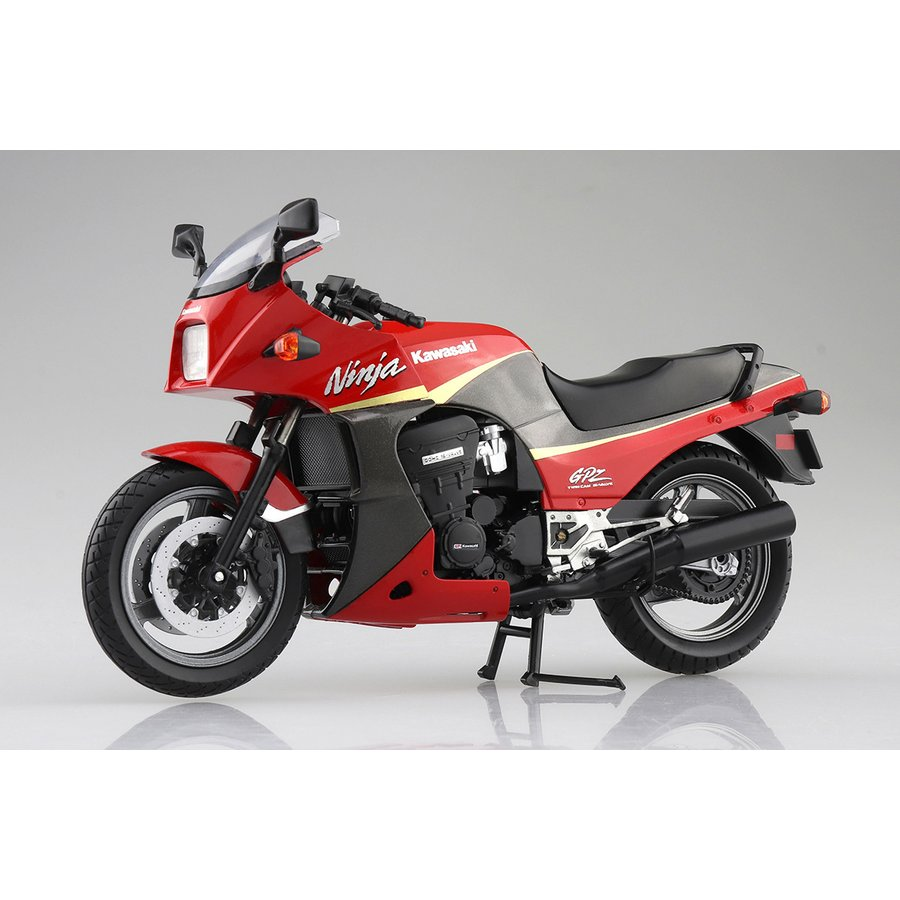 KAWASAKI GPZ900R  (赤/灰)  1/12 完成品バイク #完成品|aoshima-bk|03