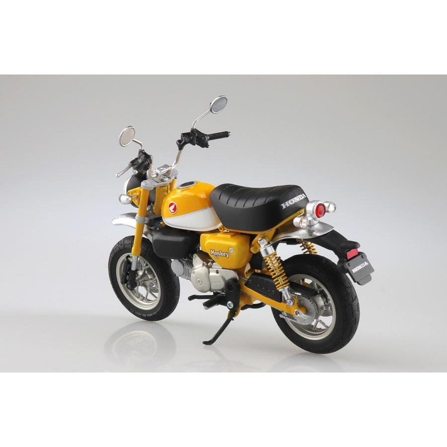 [予約2021年11月発送予定]Honda Monkey 125(バナナイエロー)1/12 完成品バイク #完成品|aoshima-bk|02