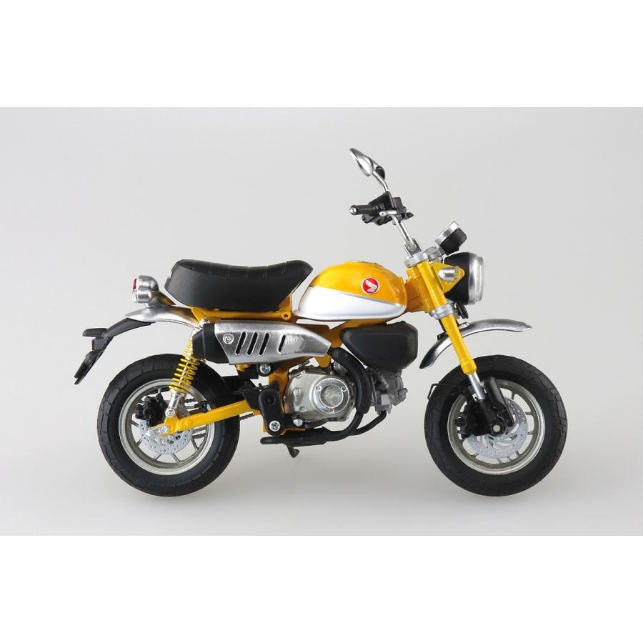 [予約2021年11月発送予定]Honda Monkey 125(バナナイエロー)1/12 完成品バイク #完成品|aoshima-bk|04