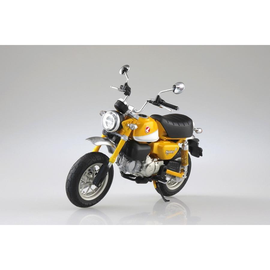 [予約2021年11月発送予定]Honda Monkey 125(バナナイエロー)1/12 完成品バイク #完成品|aoshima-bk|05