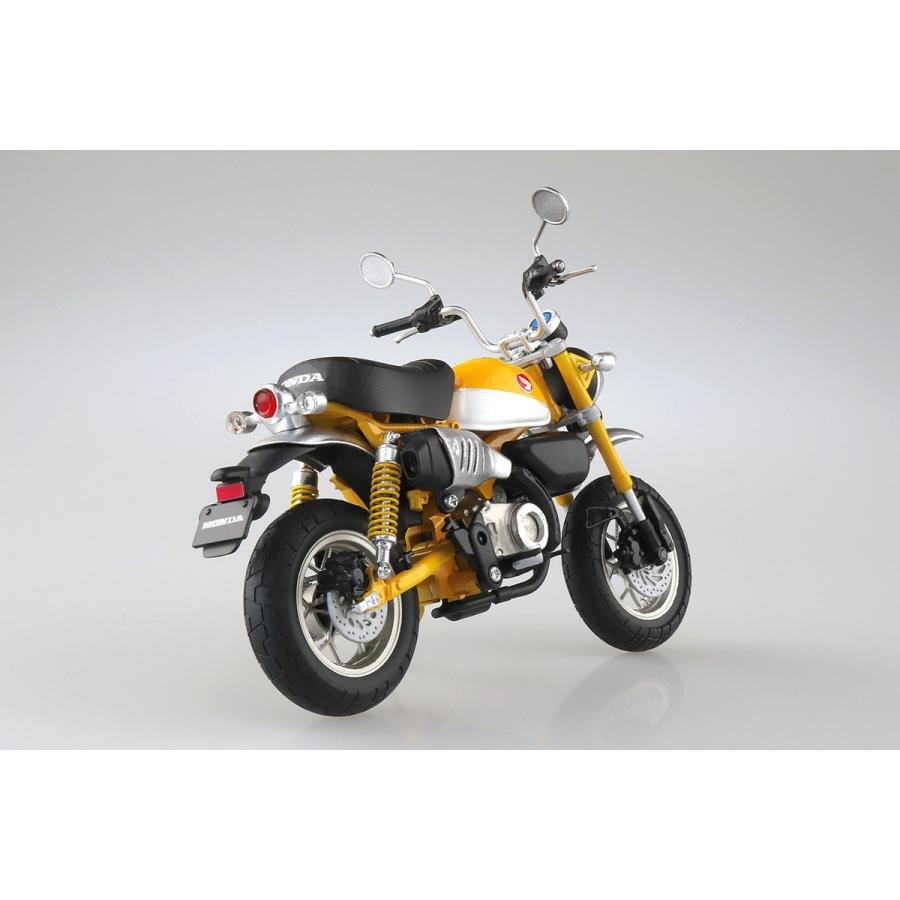 [予約2021年11月発送予定]Honda Monkey 125(バナナイエロー)1/12 完成品バイク #完成品|aoshima-bk|06