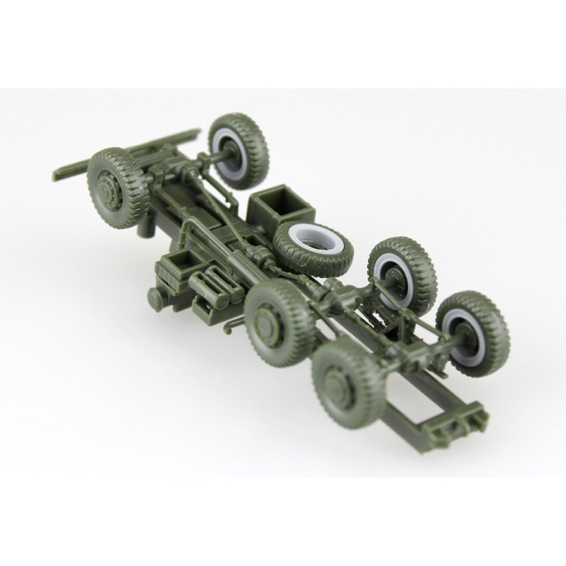 陸上自衛隊 3 1/2t トラック装甲強化型(隊員6体セット) 1/72 ミリタリーモデルキット No.11 #プラモデル|aoshima-bk|08