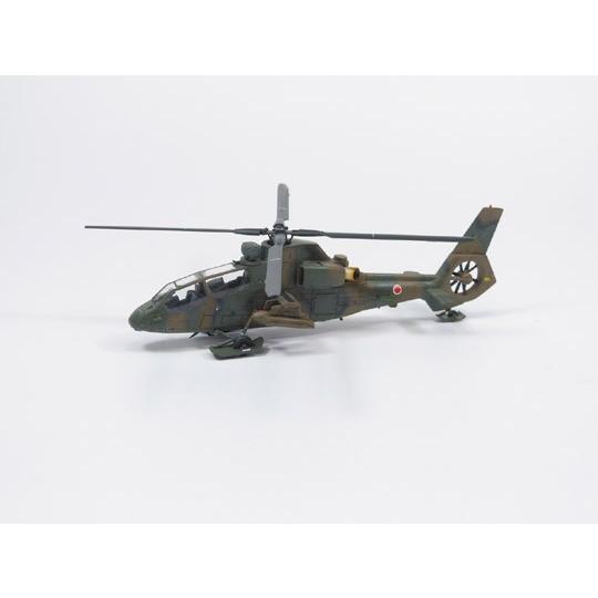 陸上自衛隊 観測ヘリコプター OH−1 ニンジャ&トーイングトラクターセット 1/72 ミリタリーモデルキット No.15 #プラモデル|aoshima-bk|02