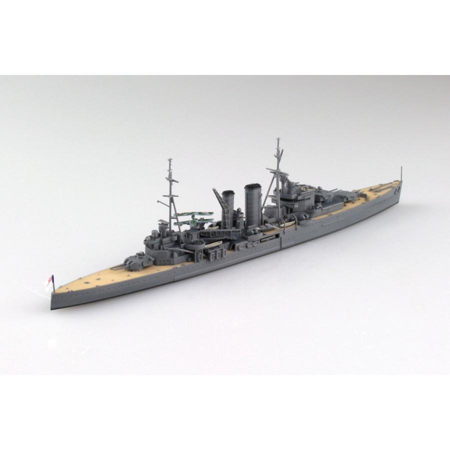 英国海軍 重巡洋艦 エクセター 大西洋船団護送作戦 1/700 ウォーター ...
